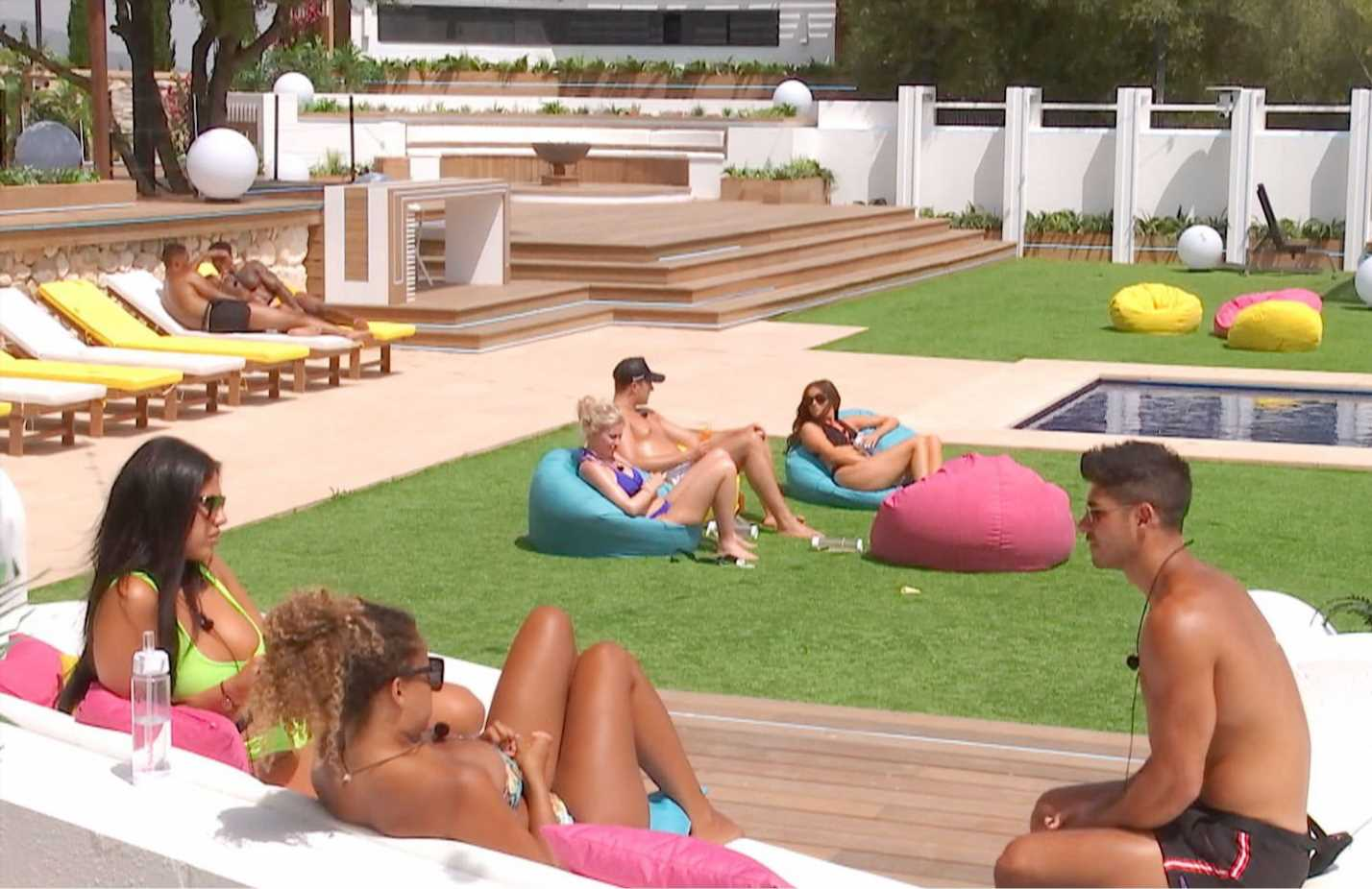 Love Island stars roasted by heat bomb as temperatures hit 45C