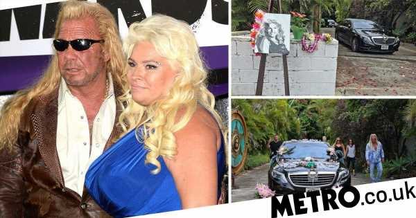 Dog The Bounty Hunter's daughter creates shrine at Beth Chapman's home