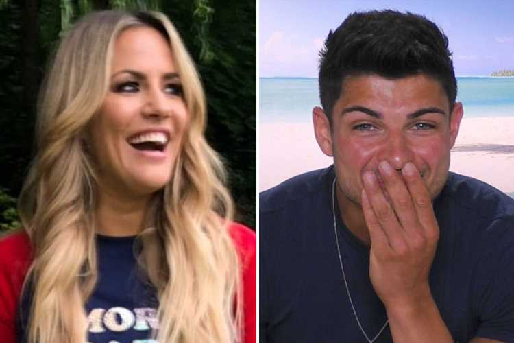 Caroline Flack reveals secret crush on Love Island's Anton Danyluk