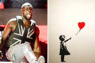 It's Come To Our Attention That Banksy Created The Union Jack Stab-Proof Vest Stormzy Wore During His Glastonbury Performance