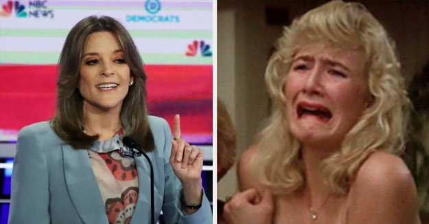 This Connection Between Laura Dern And Marianne Williamson Is Blowing My Damn Mind
