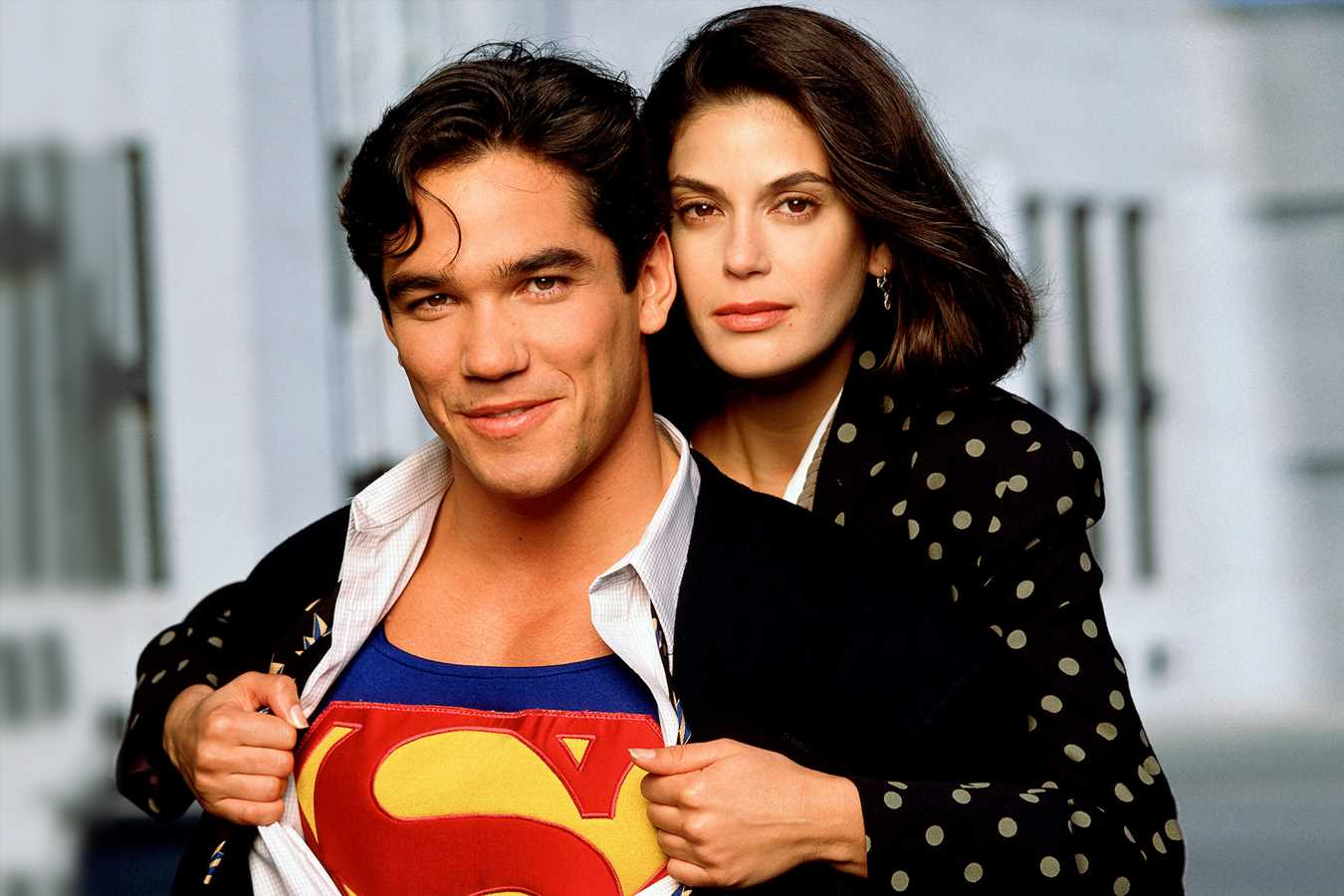 Dean Cain says he's writing an idea for a Lois and Clark revival