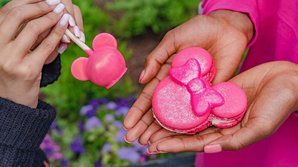We couldn't even have imagined Disney's gorgeous new pink treats
