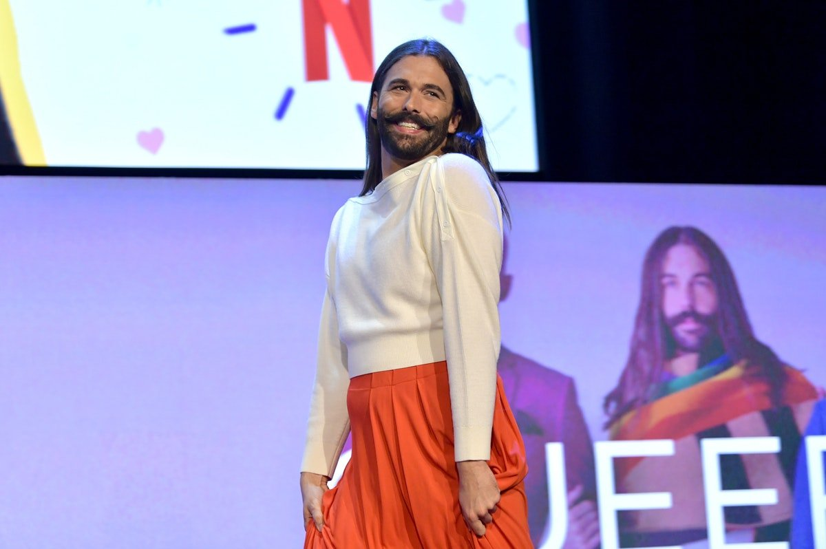 Jonathan Van Ness Has Gotten So Good At Ice Skating, It May Honestly Blow Your Mind