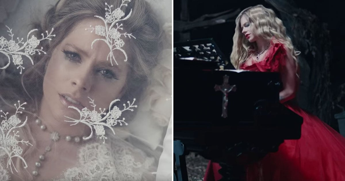 """Watch Avril Lavigne's Haunting New Music Video For """"I Fell in Love With the Devil"""""""