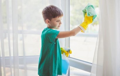Mum's 'age appropriate chore guide for kids' has not gone down well with parents