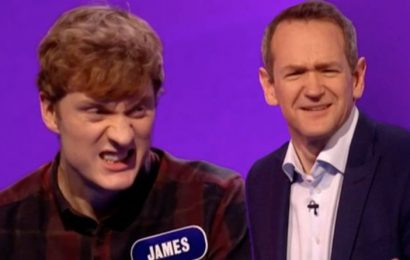 Pointless: 'What were you thinking?' Richard Osman stunned as contestant BREAKS set