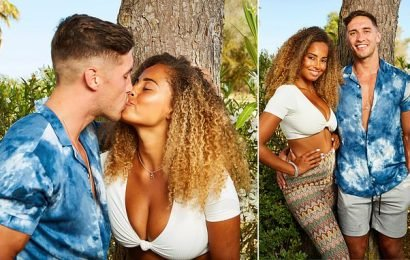 Love Island: Amber and Greg reveal they're now an OFFICIAL couple