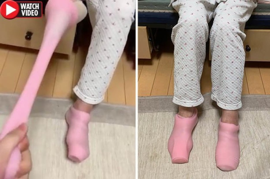 Bloke walks in to find gran wearing his sex toys as socks after hilarious mix-up