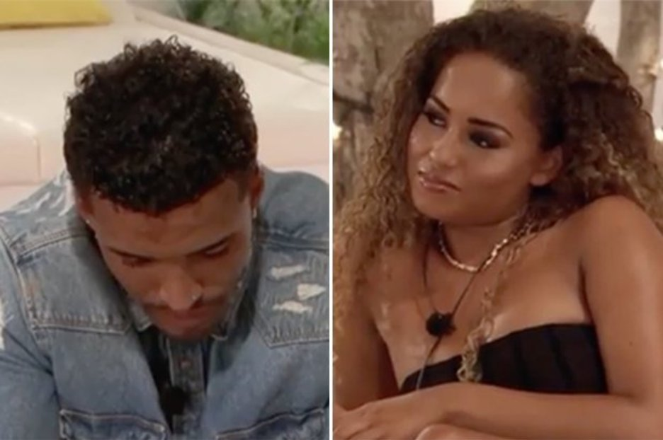 Love Island's Amber savagely 'rejects' Michael after he confesses he still likes her