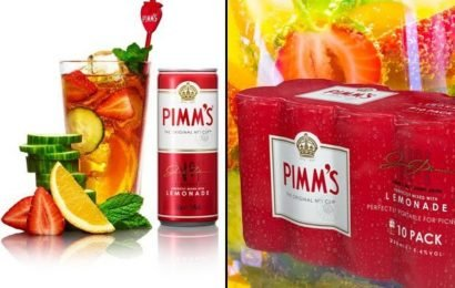 Tesco slash cost of Pimm's and Lemonade cans meaning you can now buy 10 for £10