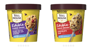Nestle Toll House Is Releasing Mini Tubs Of Edible Cookie Dough