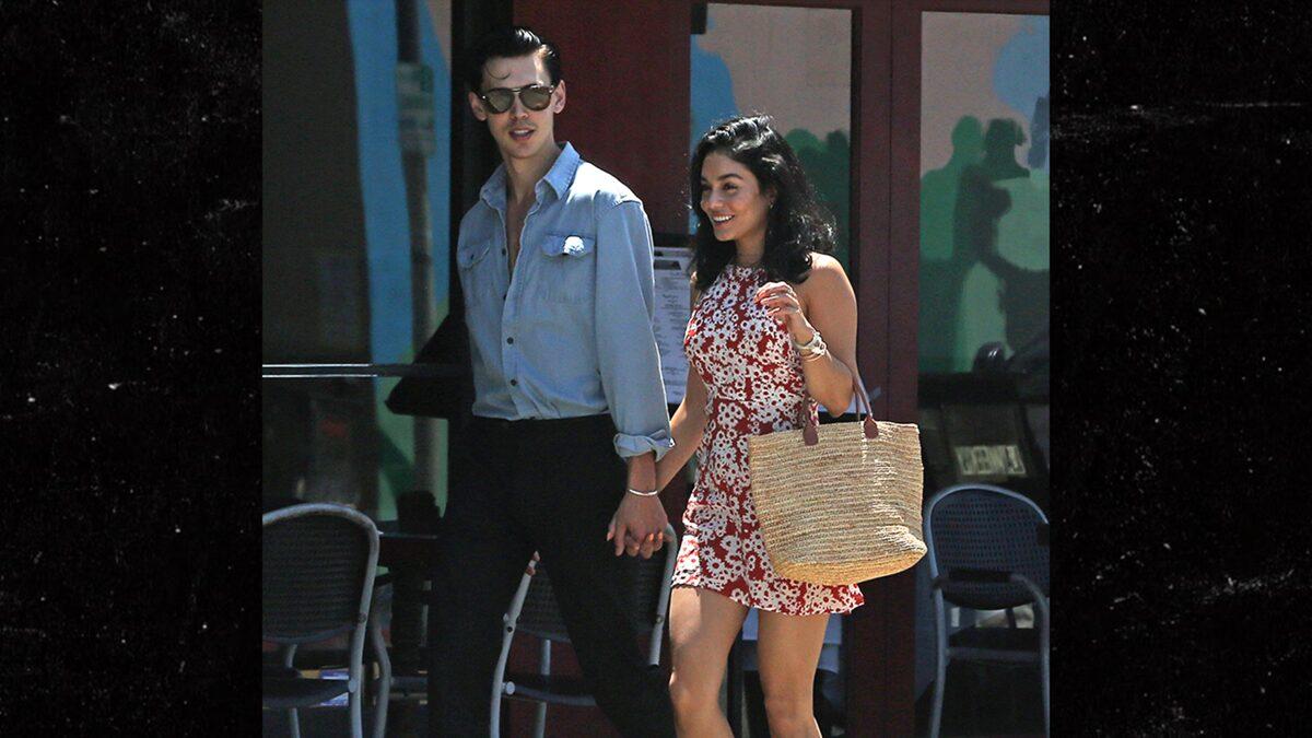 Vanessa Hudgens Strolling with BF Austin Butler the New Elvis Casting