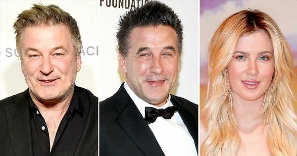 Alec, Billy Baldwin Comment on Ireland's 'Awkward' Nearly Nude Photo