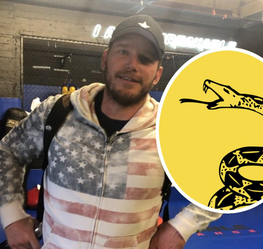 Chris Pratt Accused Of Winking At White Supremacists With THIS T-Shirt!