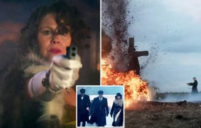 Peaky Blinders series 5 trailer shows gun-slinging Tommy Shelby in exploding house and teases major character's death