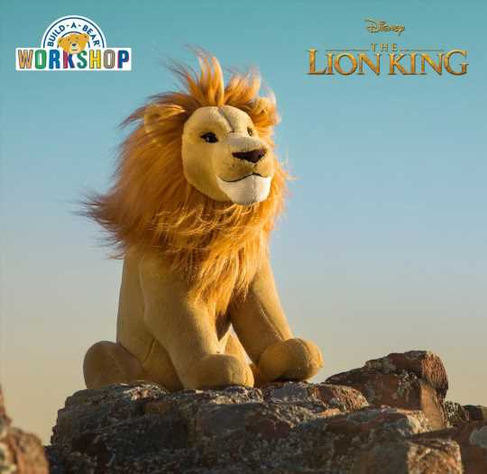 Build-a-Bear launches new Lion King range with prices starting from £21.50