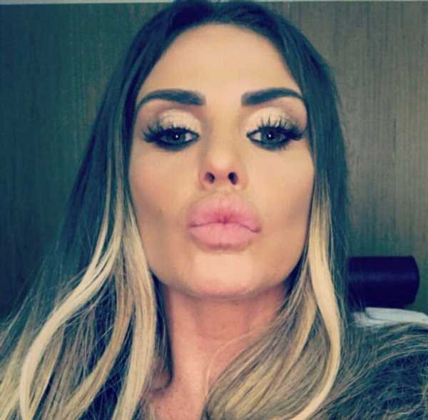 Katie Price enrages fans by using beauty cam filter on her children's faces