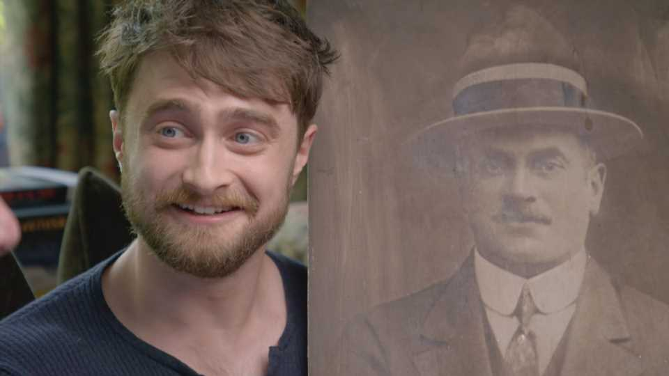 Daniel Radcliffe breaks down reading his great grandfather's suicide note on Who Do You Think You Are? – The Sun