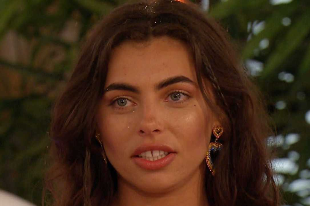 Georgia Harrison defends Love Island's Francesca over 'dirty paedo' comment about Caroline Flack and claims she's the 'nicest girl'