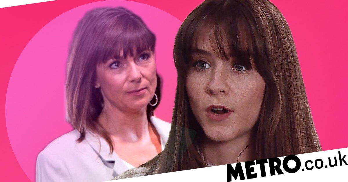 Corrie star reveals Paula's shocking secret that could end in death