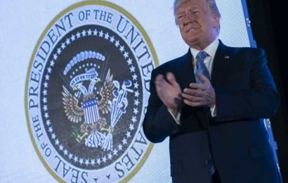 What really happened with the fake presidential seal at Donald Trump's event?