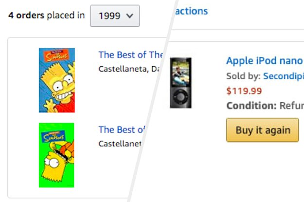 A Look At People's First Orders On Amazon Is A Fantastic Trip Down Memory Lane