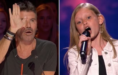 AGT: Simon Cowell Stopped This 12-Year-Old and Asked Her to Sing Without Music . . .  Again!