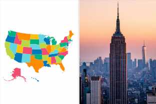 Can You Name A Major City For Each State In The USA?