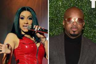 """Cardi B Defended Women Rappers After Mariah Carey Producer Jermaine Dupri Slammed """"Strippers Rapping"""""""
