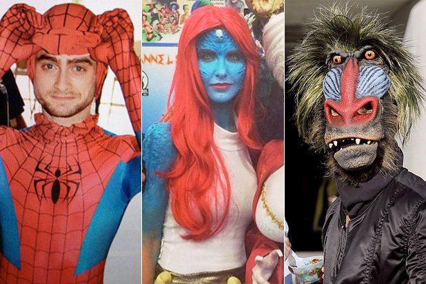 Stars Who Went to Comic-Con in Disguise