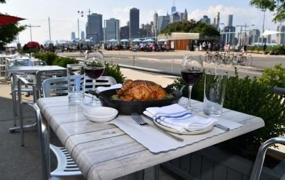 Michelin-star chef opens waterfront eatery on NYC's newest marina