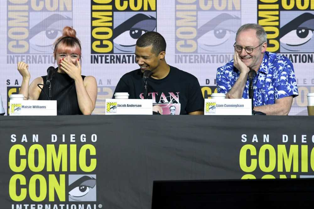 Comic-Con exec reminds crowd to 'accept each other' ahead of 'Game of Thrones' panel
