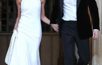 Jessica Mulroney Shares Wedding Dress Look Similar to Meghan Markle's: 'High Neck for the Win'