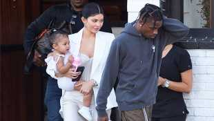 Kylie Jenner & Travis Scott Go On An Adventure With Baby Stormi & The Pics Are The Cutest Thing Ever