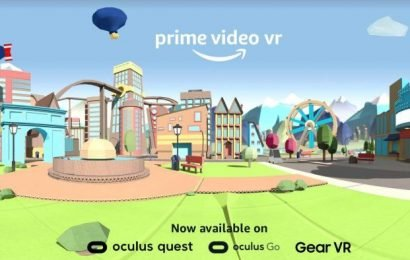 Amazon Is Bringing Prime Video to Oculus VR Headsets
