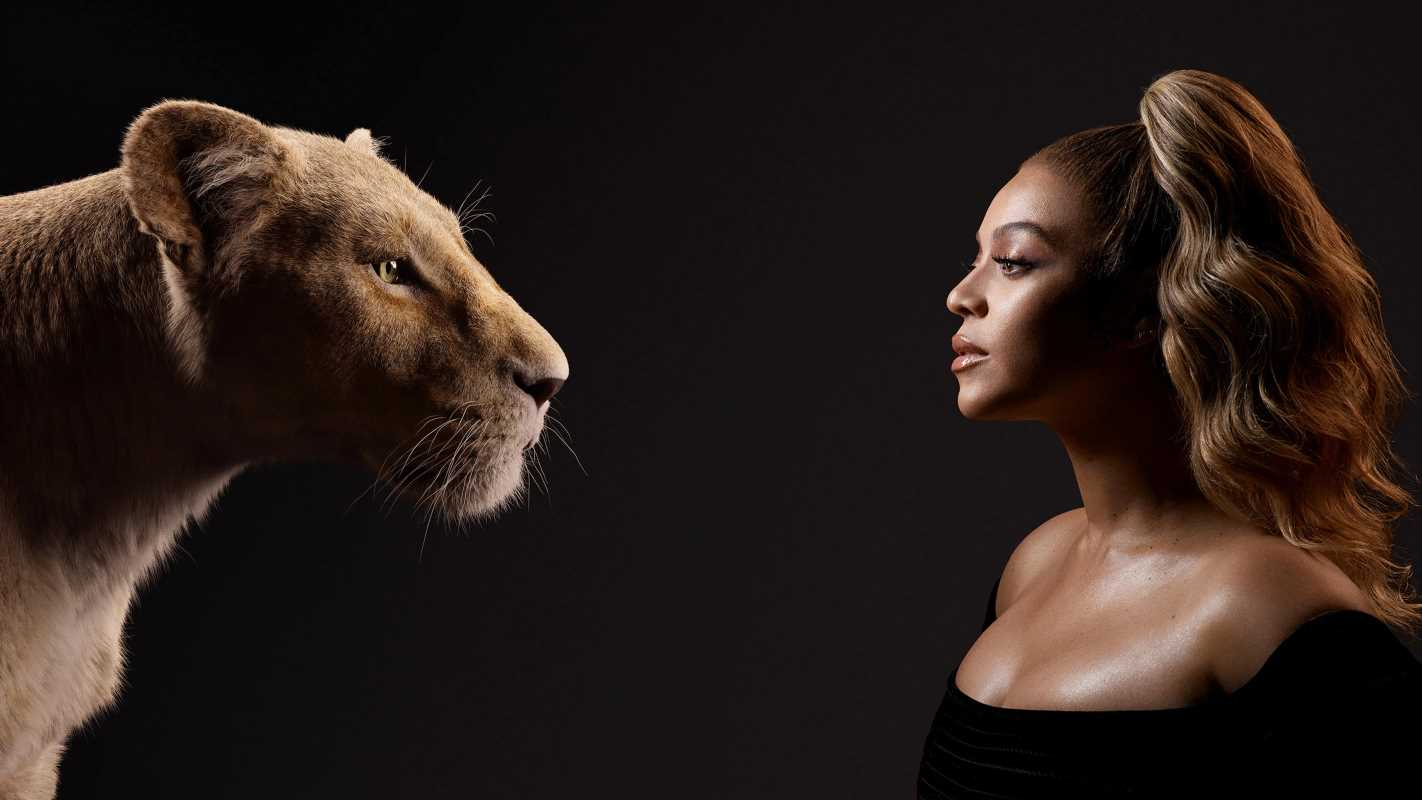 Beyoncé Meets Her Lion King Character in New Photos Teasing Disney's Live-Action Remake