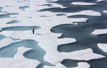 These Charts Track The Big Arctic Melt In What Could Be A Record Year