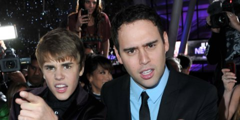 Meet Scooter Braun, the Hollywood manager who's caught in a feud with Taylor Swift, used to sell fake IDs in college, and discovered Justin Bieber in 2008