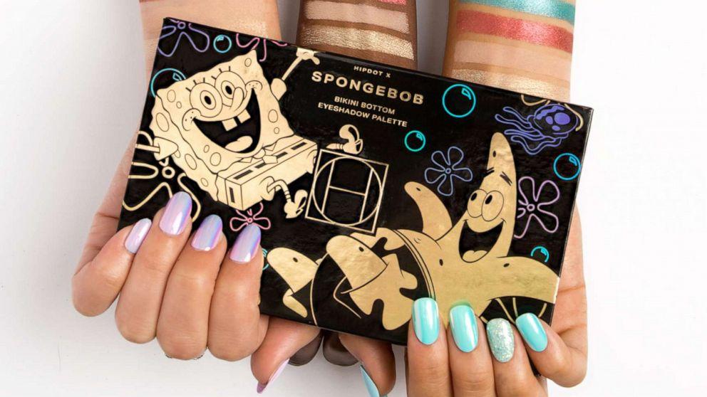 HipDot launches 'SpongeBob Squarepants' cosmetics collection