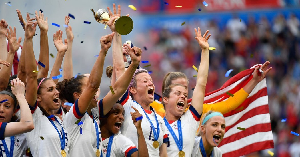 U.S. Wins World Cup and Becomes a Champion for Its Time