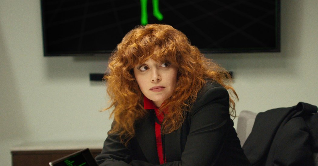 Natasha Lyonne Is Thrilled For 'Russian Doll' and the Emmys, We Think