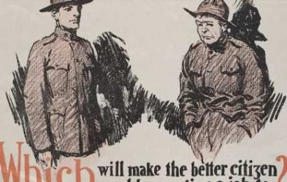The Army's Message to Returning World War I Troops? Behave Yourselves