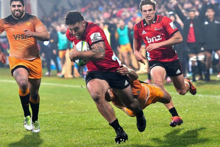 Super Rugby: Crusaders clinical under pressure, grind down Jaguares to win 10th title
