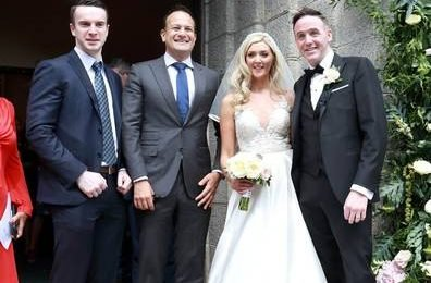 In Pictures: Taoiseach among 170 guests as Fair City's Jenny Dixon weds TD Tom Neville