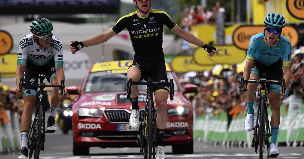 Simon Yates Wins Tour Stage as a Competitor Vanishes