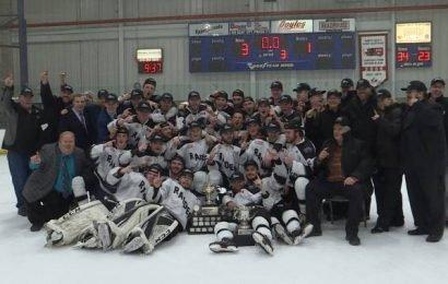 Napanee Raiders relive Ontario Junior C championship win at postseason awards banquet