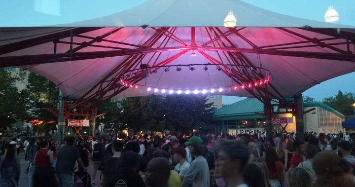 The Forks hosts more than 100,000 party-goers for Canada Day
