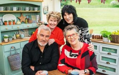 Bake Off presenters Noel and Sandi describe 'stress and fear' over 2019 series