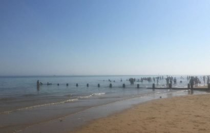 Essex beachgoers told to stay out of water after dozens left gasping for breath